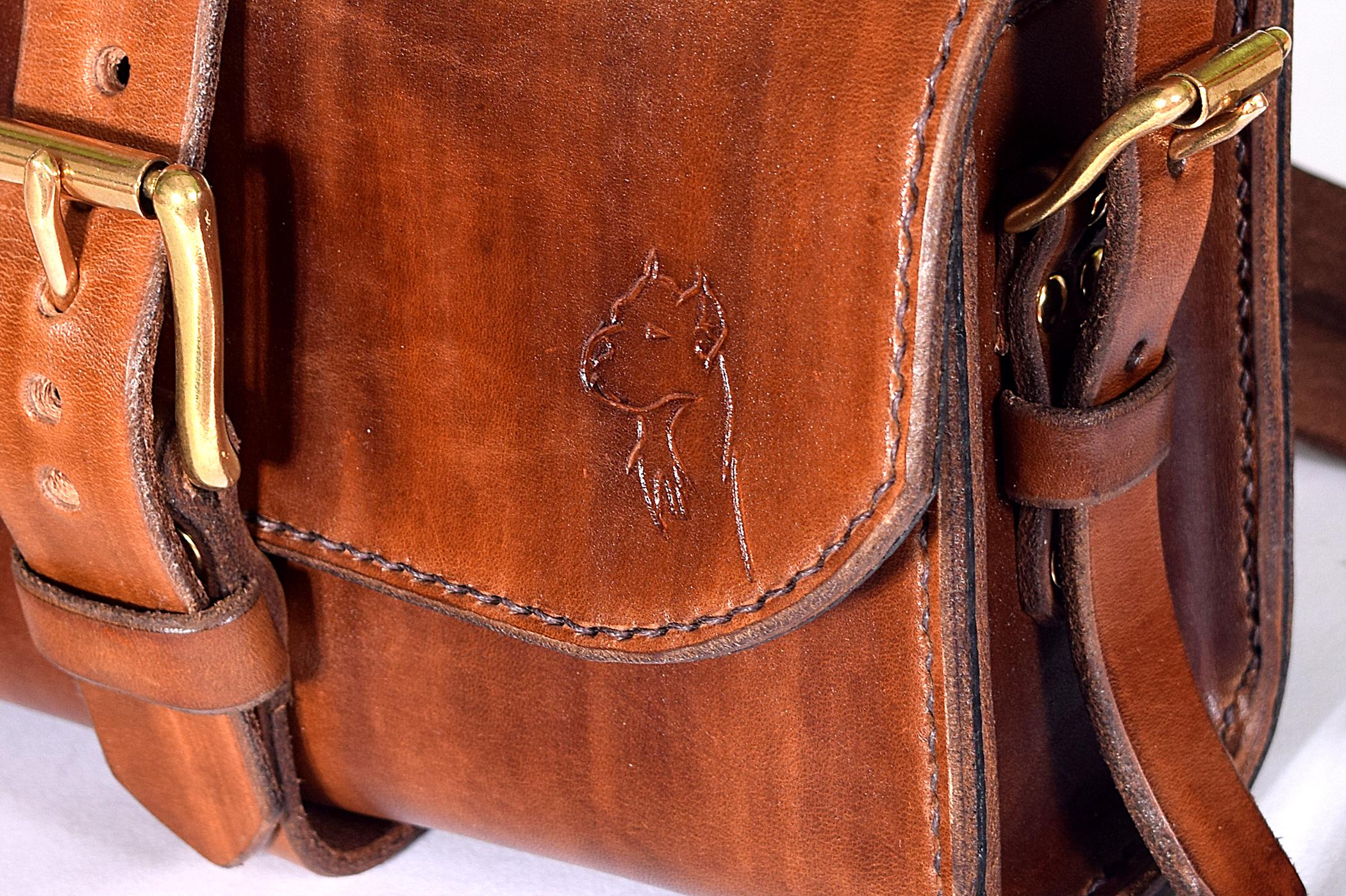 4a326d1fd Pánska kabelka; model Š3M - Malá pánska kožená taška